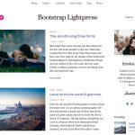 Bootstrap Lightpress