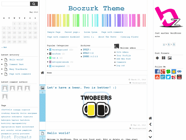 Boozurk Preview Wordpress Theme - Rating, Reviews, Preview, Demo & Download