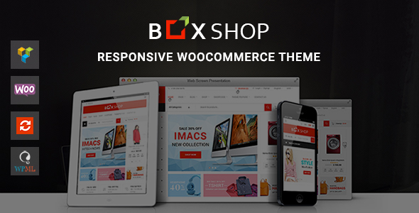 BoxShop Preview Wordpress Theme - Rating, Reviews, Preview, Demo & Download