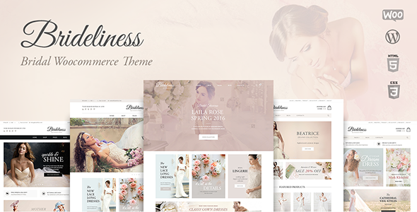 Brideliness Preview Wordpress Theme - Rating, Reviews, Preview, Demo & Download