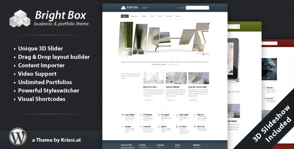 BrightBox Preview Wordpress Theme - Rating, Reviews, Preview, Demo & Download