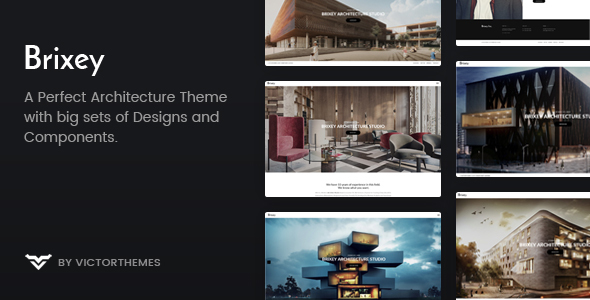 Brixey Preview Wordpress Theme - Rating, Reviews, Preview, Demo & Download