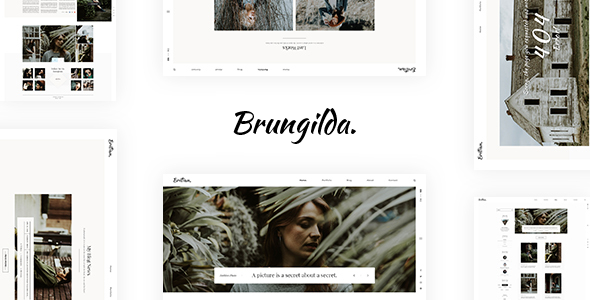 Brungilda Preview Wordpress Theme - Rating, Reviews, Preview, Demo & Download
