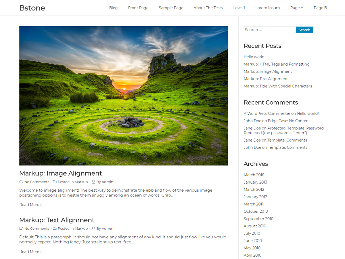 Bstone Preview Wordpress Theme - Rating, Reviews, Preview, Demo & Download