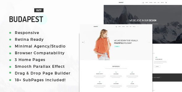 Budapest Preview Wordpress Theme - Rating, Reviews, Preview, Demo & Download