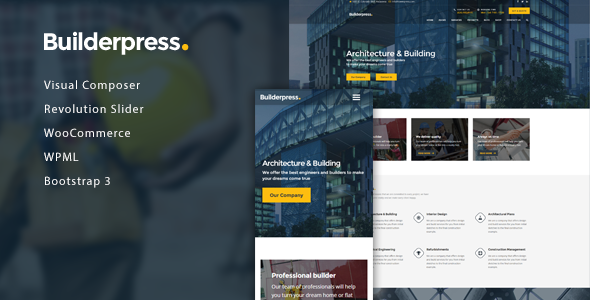 BuilderPress Preview Wordpress Theme - Rating, Reviews, Preview, Demo & Download