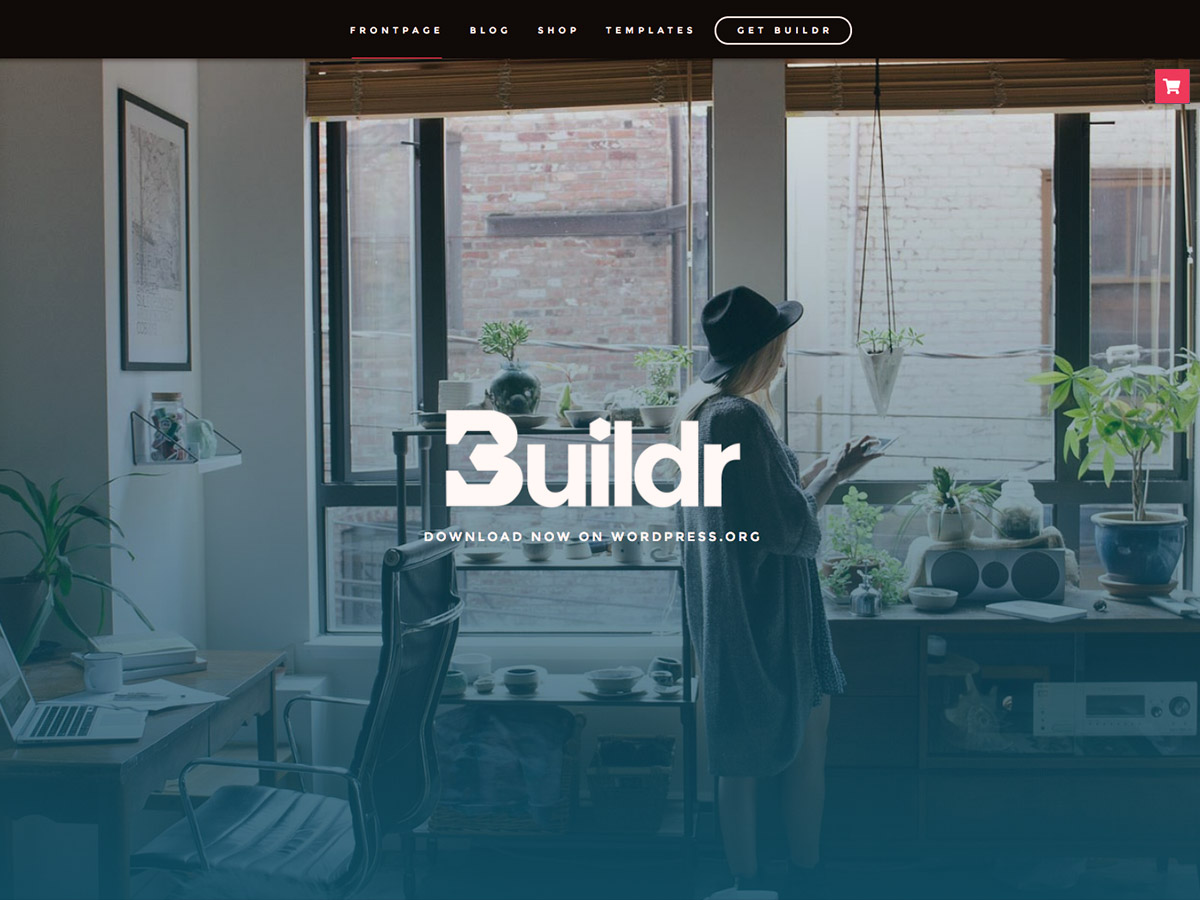 Buildr Preview Wordpress Theme - Rating, Reviews, Preview, Demo & Download