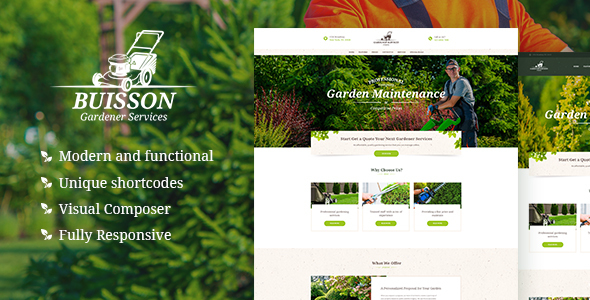Buisson Preview Wordpress Theme - Rating, Reviews, Preview, Demo & Download