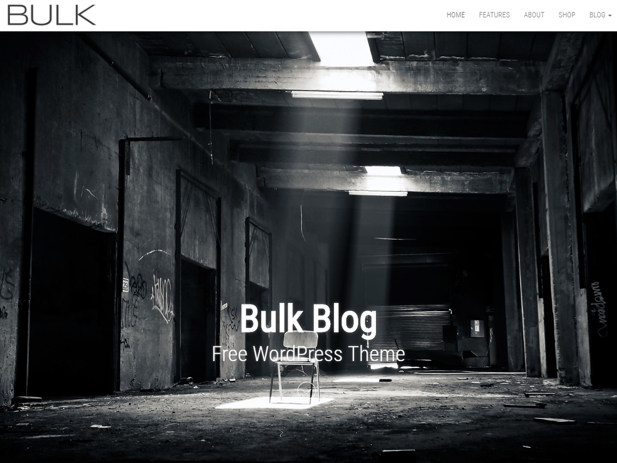 Bulk Blog Preview Wordpress Theme - Rating, Reviews, Preview, Demo & Download