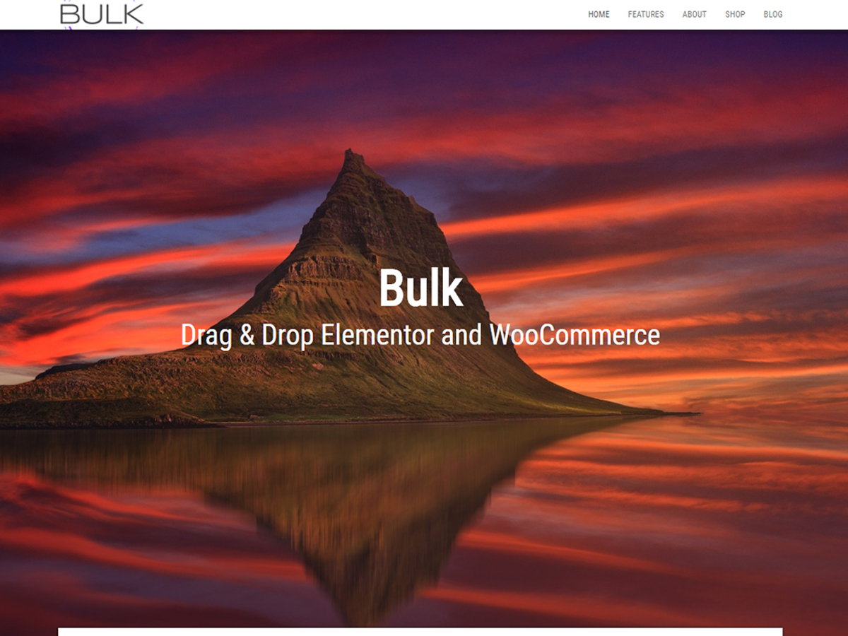 Bulk Preview Wordpress Theme - Rating, Reviews, Preview, Demo & Download
