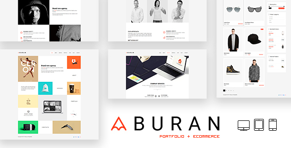 BURAN Preview Wordpress Theme - Rating, Reviews, Preview, Demo & Download