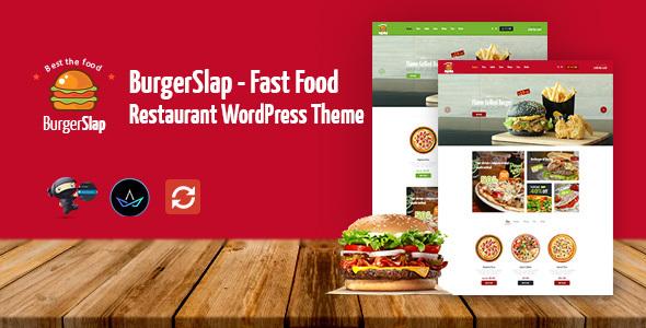 Burger Slap Preview Wordpress Theme - Rating, Reviews, Preview, Demo & Download