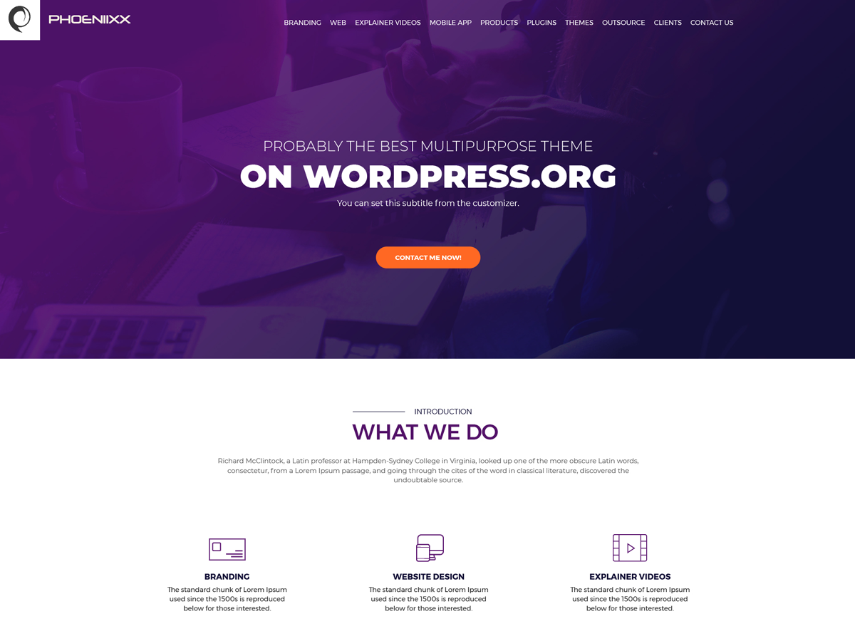 Business Booster Preview Wordpress Theme - Rating, Reviews, Preview, Demo & Download
