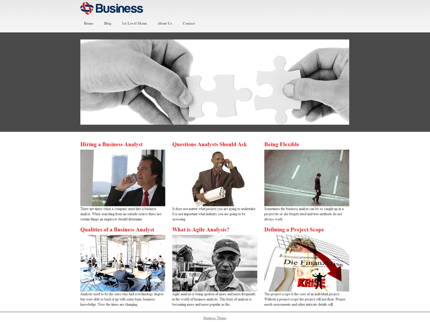 Business Mind Preview Wordpress Theme - Rating, Reviews, Preview, Demo & Download