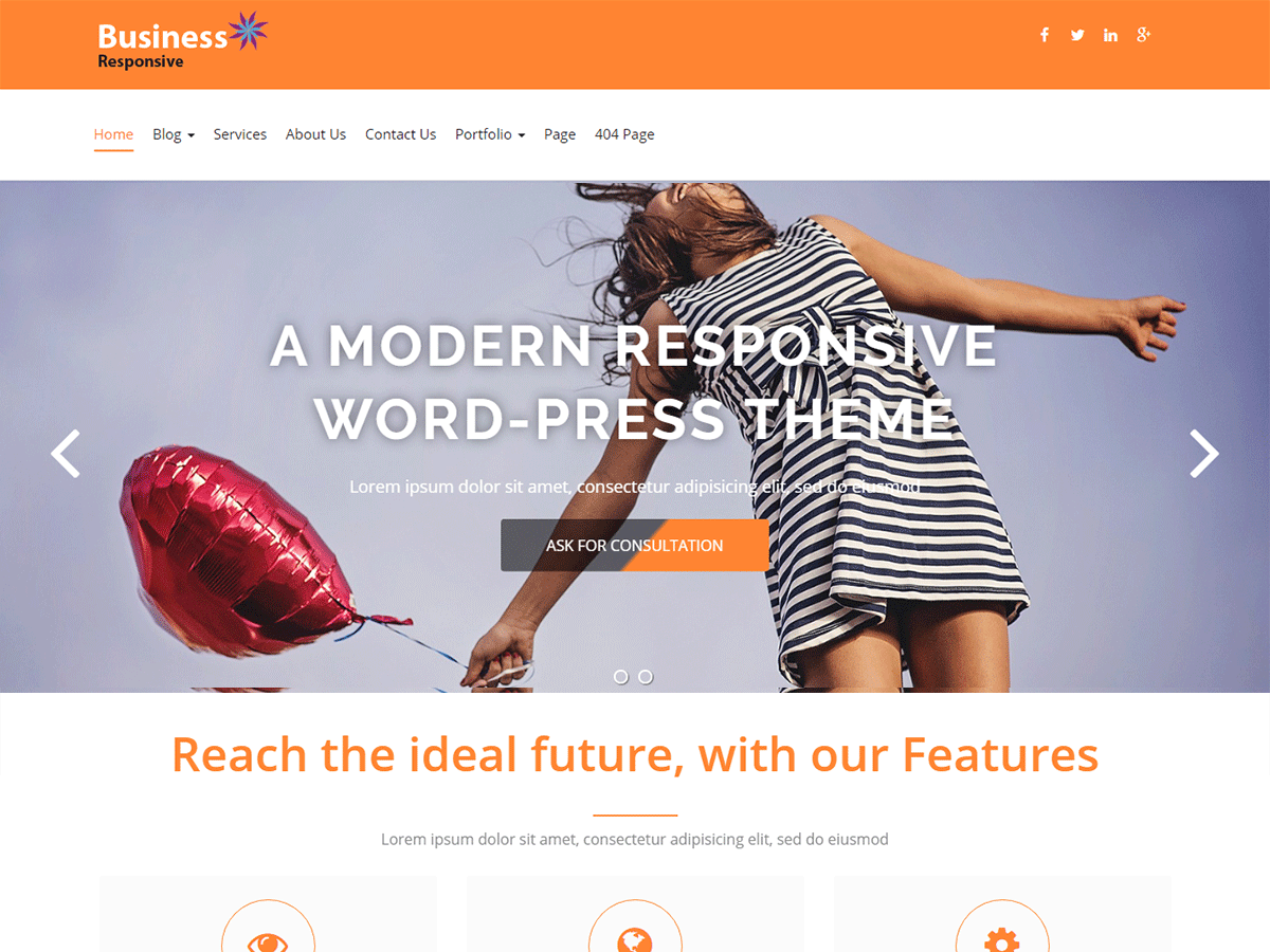 Business Responsiveness Preview Wordpress Theme - Rating, Reviews, Preview, Demo & Download