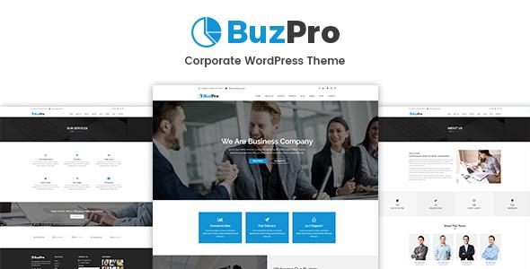Buzpro Preview Wordpress Theme - Rating, Reviews, Preview, Demo & Download