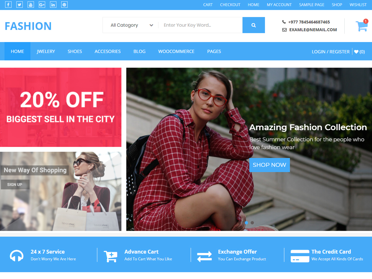 Buzstores Preview Wordpress Theme - Rating, Reviews, Preview, Demo & Download