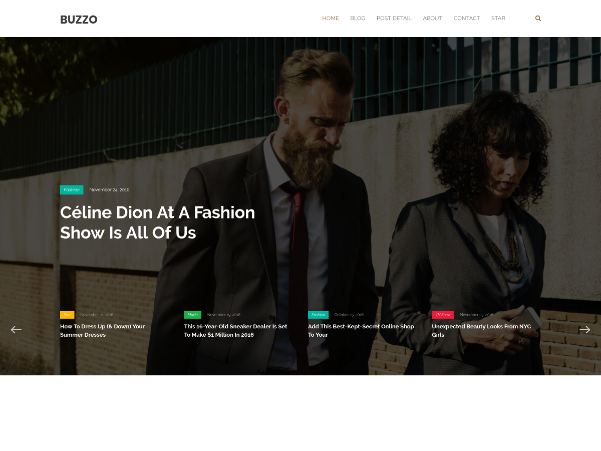 Buzzo Preview Wordpress Theme - Rating, Reviews, Preview, Demo & Download