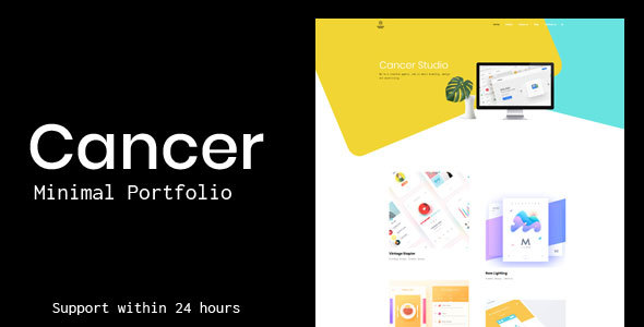 Cancer Preview Wordpress Theme - Rating, Reviews, Preview, Demo & Download
