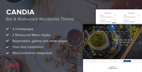 Candia Preview Wordpress Theme - Rating, Reviews, Preview, Demo & Download