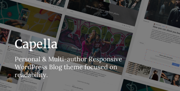 Capella Preview Wordpress Theme - Rating, Reviews, Preview, Demo & Download