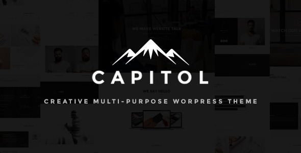 Capitol Preview Wordpress Theme - Rating, Reviews, Preview, Demo & Download