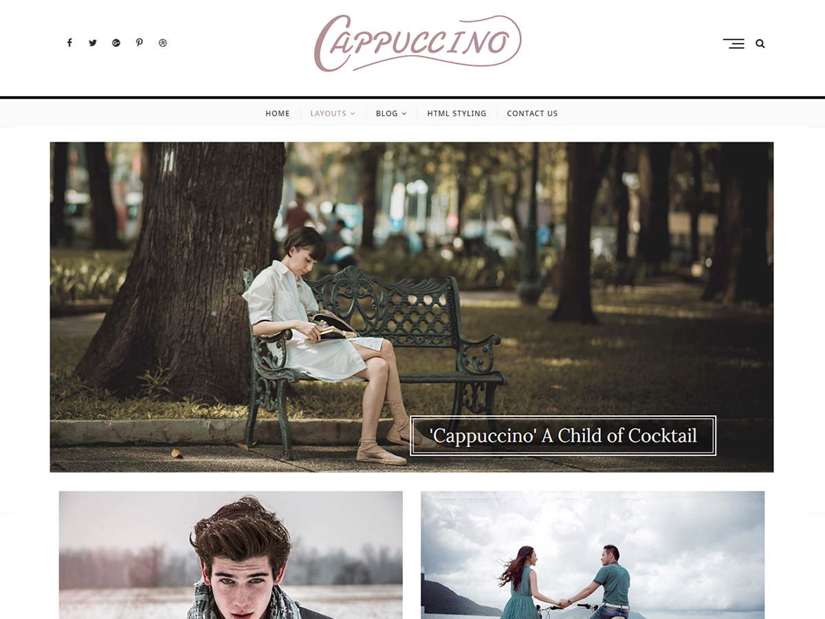 Cappuccino Preview Wordpress Theme - Rating, Reviews, Preview, Demo & Download
