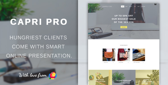Capri Pro Preview Wordpress Theme - Rating, Reviews, Preview, Demo & Download