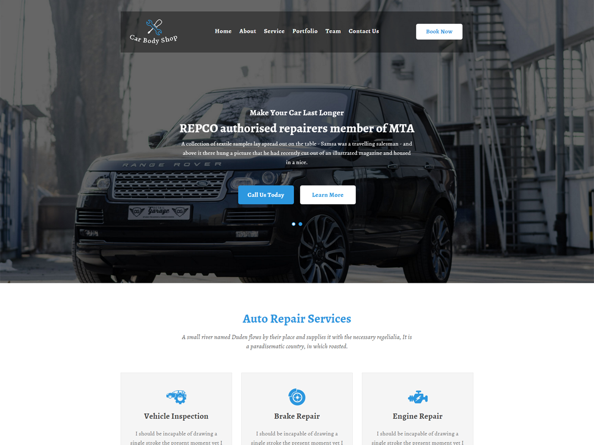 Carbody Preview Wordpress Theme - Rating, Reviews, Preview, Demo & Download