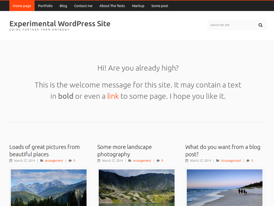 Carrot Lite Preview Wordpress Theme - Rating, Reviews, Preview, Demo & Download