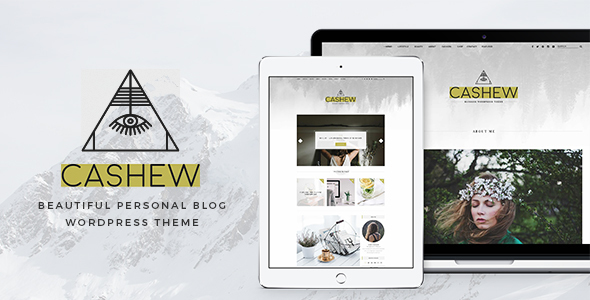 Cashew Preview Wordpress Theme - Rating, Reviews, Preview, Demo & Download