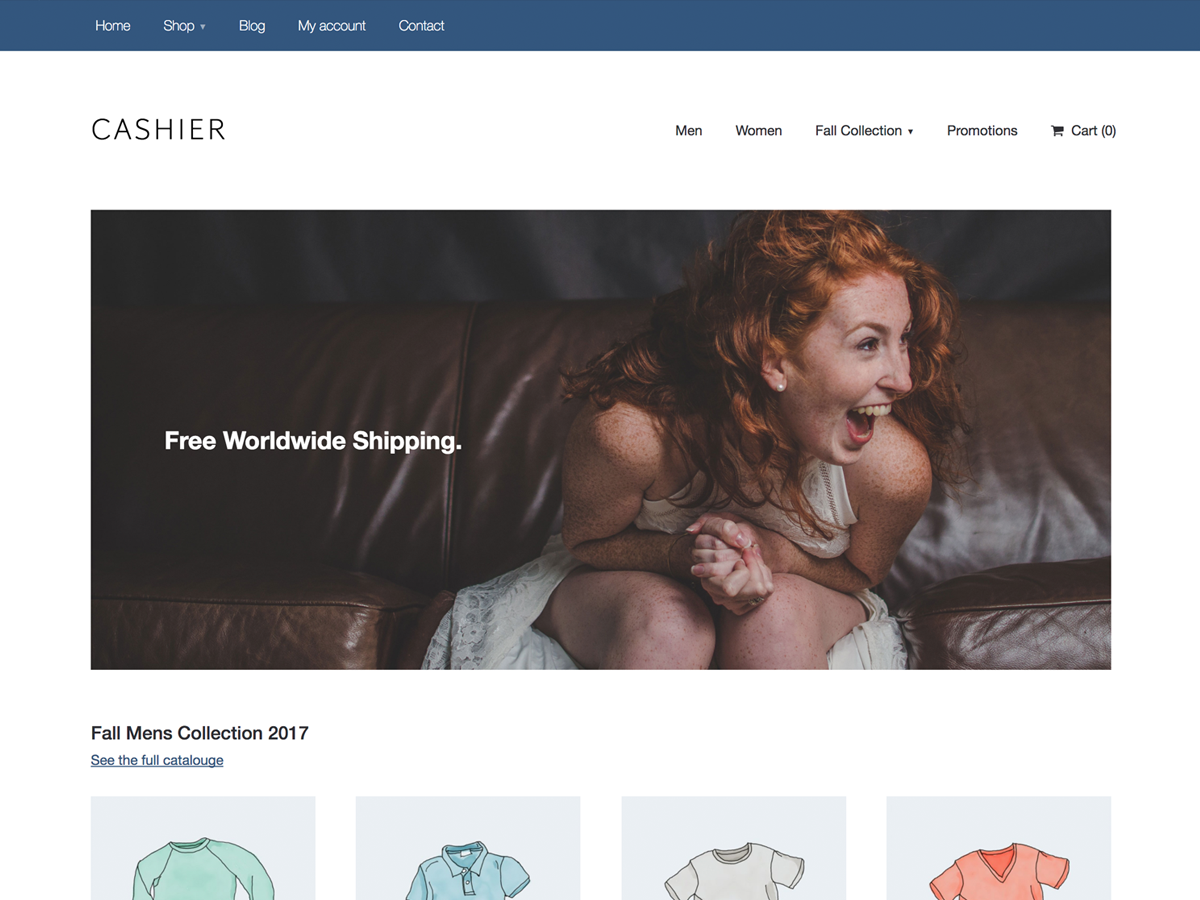 Cashier Preview Wordpress Theme - Rating, Reviews, Preview, Demo & Download