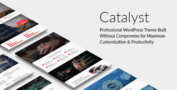 Catalyst Preview Wordpress Theme - Rating, Reviews, Preview, Demo & Download