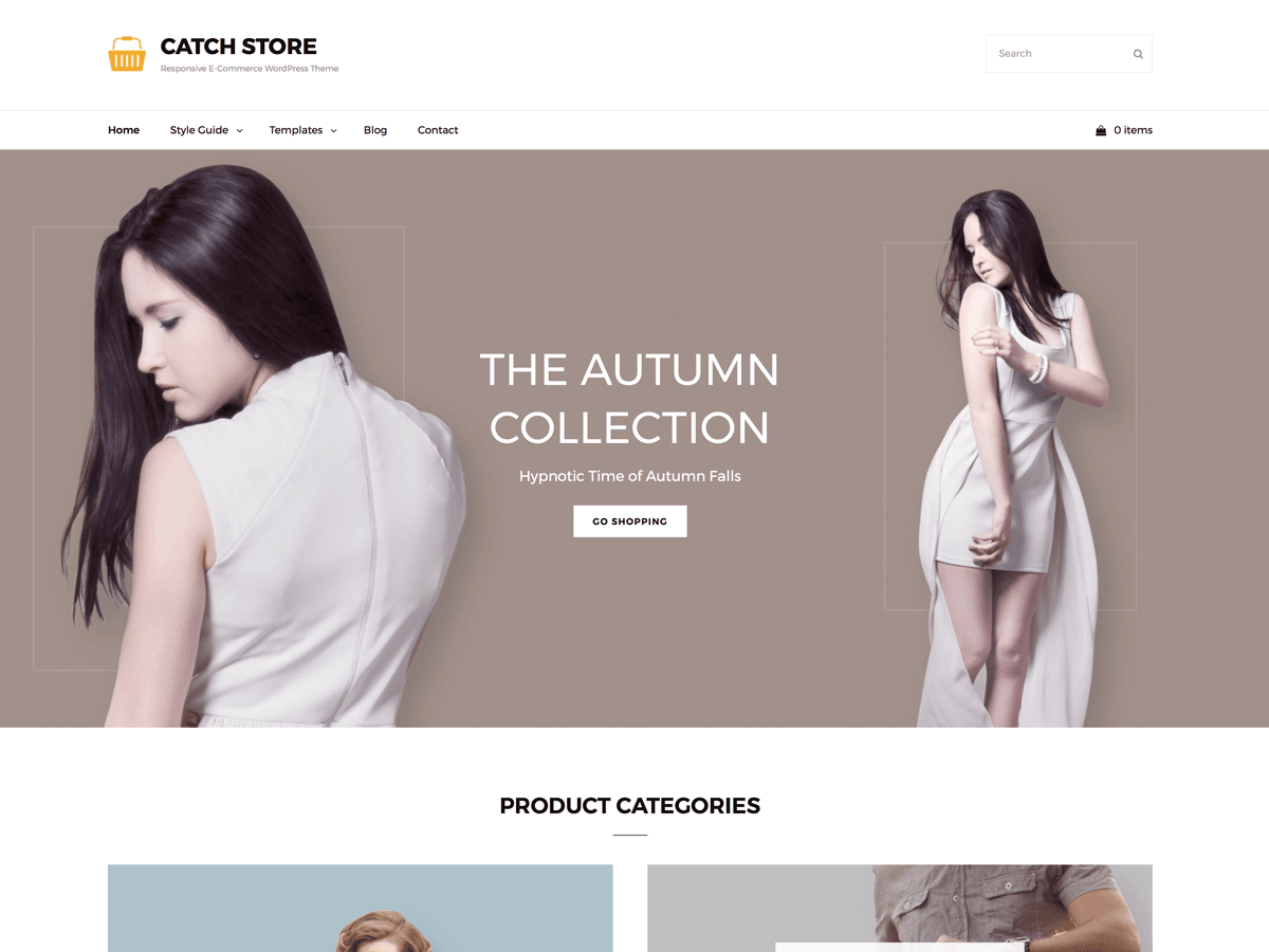 Catch Store Preview Wordpress Theme - Rating, Reviews, Preview, Demo & Download