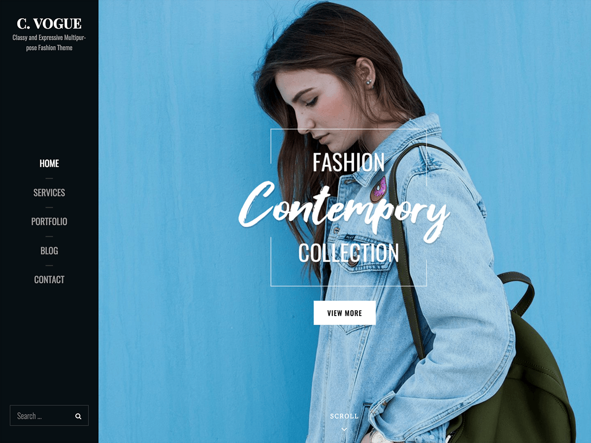 Catch Vogue Preview Wordpress Theme - Rating, Reviews, Preview, Demo & Download