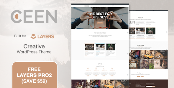 Ceen Preview Wordpress Theme - Rating, Reviews, Preview, Demo & Download