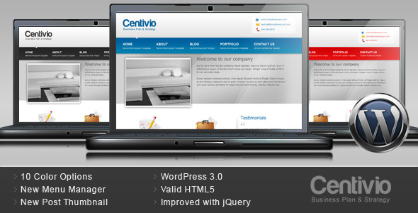 Centivio Preview Wordpress Theme - Rating, Reviews, Preview, Demo & Download