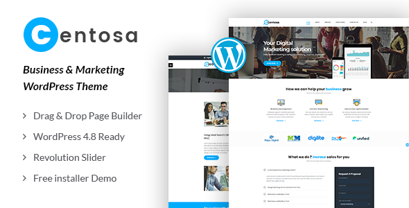 Centosa Preview Wordpress Theme - Rating, Reviews, Preview, Demo & Download