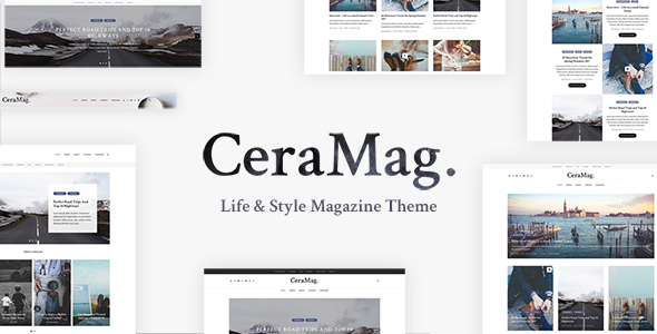 CeraMag Preview Wordpress Theme - Rating, Reviews, Preview, Demo & Download