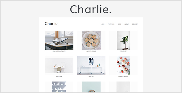 Charlie Preview Wordpress Theme - Rating, Reviews, Preview, Demo & Download