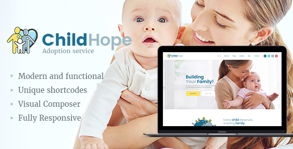 ChildHope Preview Wordpress Theme - Rating, Reviews, Preview, Demo & Download