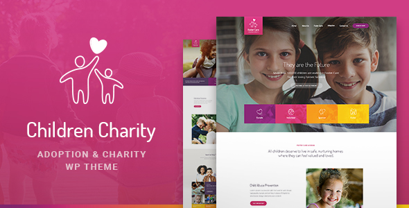 Children Charity Preview Wordpress Theme - Rating, Reviews, Preview, Demo & Download