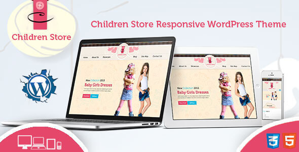 Children Store Preview Wordpress Theme - Rating, Reviews, Preview, Demo & Download