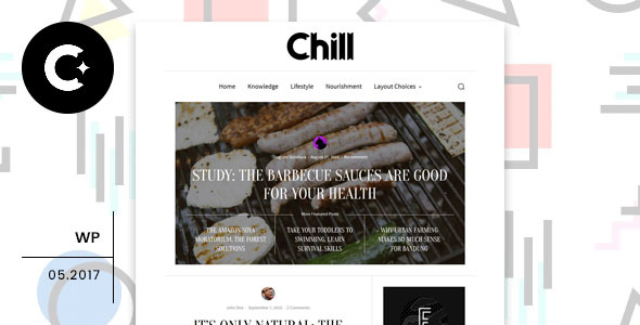 Chill Preview Wordpress Theme - Rating, Reviews, Preview, Demo & Download