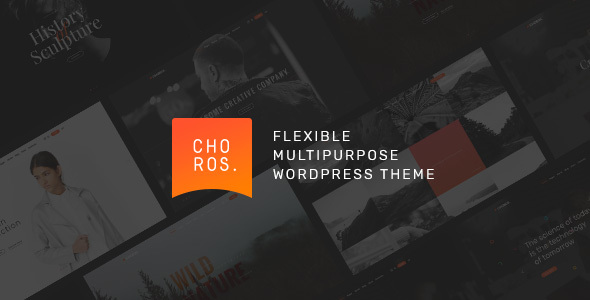 Choros Preview Wordpress Theme - Rating, Reviews, Preview, Demo & Download