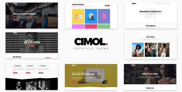 Cimol Preview Wordpress Theme - Rating, Reviews, Preview, Demo & Download
