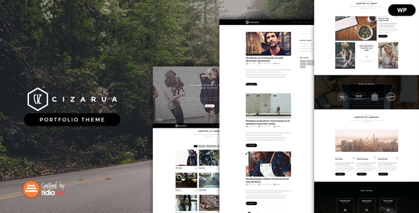 Cizarua Preview Wordpress Theme - Rating, Reviews, Preview, Demo & Download