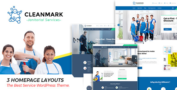 Cleanmark Preview Wordpress Theme - Rating, Reviews, Preview, Demo & Download