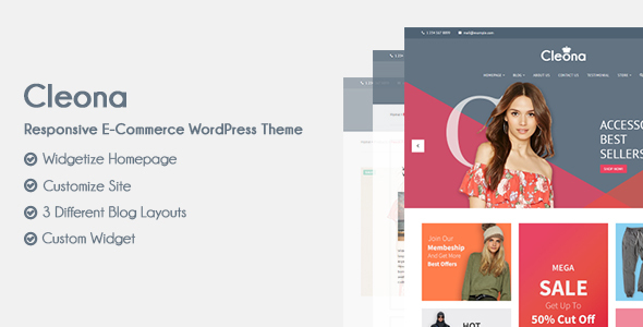 Cleona Preview Wordpress Theme - Rating, Reviews, Preview, Demo & Download