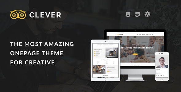 Clever One Preview Wordpress Theme - Rating, Reviews, Preview, Demo & Download